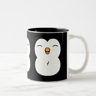 Pingüino lindo taza