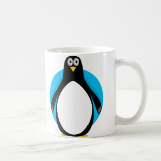 Pingüino lindo tazas