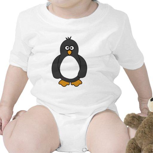 Pingüino lindo trajes de bebé