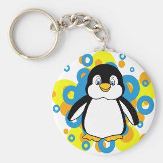pingüino llavero personalizado