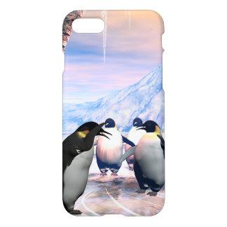 Pingüino maravilloso funda para iPhone 7