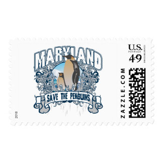 Pingüino Maryland Sello
