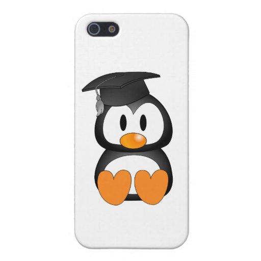 Pingüino mayor iPhone 5 carcasas