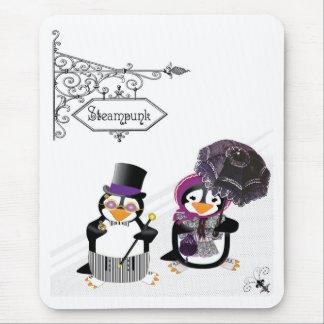 Pingüino Mousepad de Steampunk