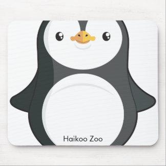 Pingüino Mousepad del parque zoológico de Haikoo Alfombrilla De Ratón