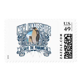 Pingüino New Hampshire Sello