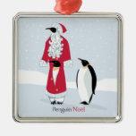 Pingüino Noel Ornaments Para Arbol De Navidad