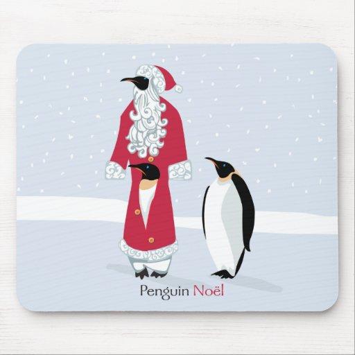 Pingüino Noel Tapetes De Ratones