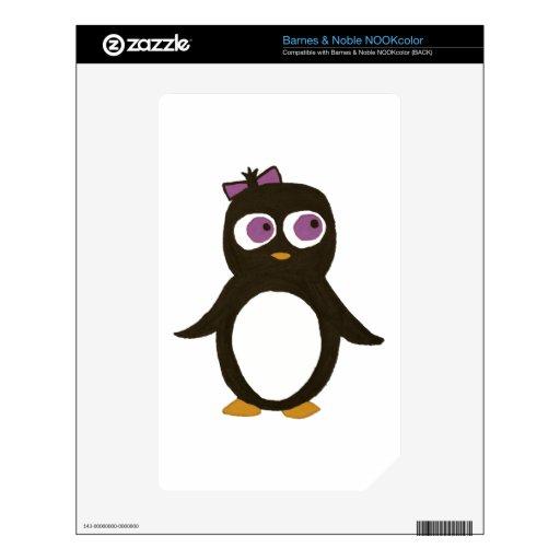 Pingüino NOOK Color Skins