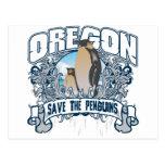 Pingüino Oregon Postal