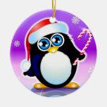 pingüino ornamentos de reyes