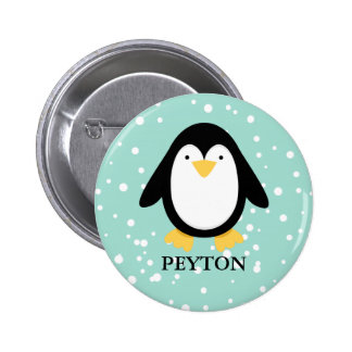 Pingüino PAL Pin Redondo 5 Cm