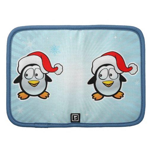 Pingüino Papá Noel Planificadores