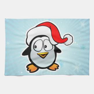 Pingüino Papá Noel Toalla