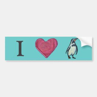 Pingüino Pegatina Para Auto