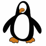 Pingüino (personalice con su imagen) escultura fotografica