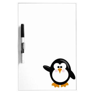 Pingüino Pizarra Blanca