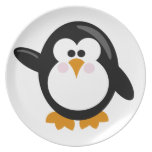 Pingüino Platos De Comidas