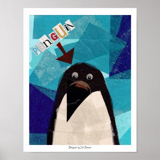 Pingüino Póster