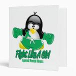 Pingüino que lucha de la enfermedad mental