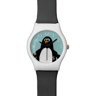 Pingüino Reloj De Mano