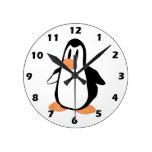 Pingüino Relojes De Pared