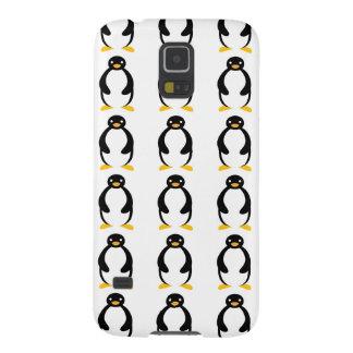 Pingüino simple rechoncho lindo fundas para galaxy s5