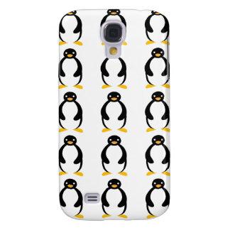 Pingüino simple rechoncho lindo funda para galaxy s4