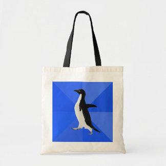 """Pingüino social torpe (""""personalizar"""" para añadir  bolsa tela barata"""
