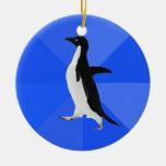 """Pingüino social torpe (""""personalizar"""" para añadir  ornamento de navidad"""