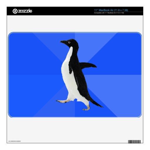 """Pingüino social torpe (""""personalizar"""" para añadir  skins para MacBook"""