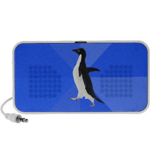 """Pingüino social torpe (""""personalizar"""" para añadir  mini altavoz"""