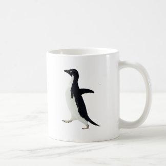 Pingüino social torpe taza