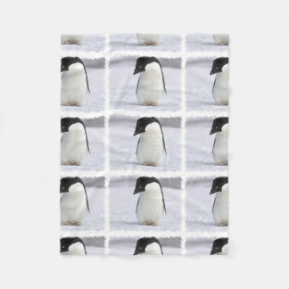 Pingüino solo manta de forro polar