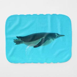 Pingüino subacuático paños para bebé
