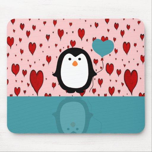 Pingüino Tapete De Ratones