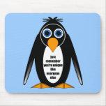 pingüino tapetes de ratones
