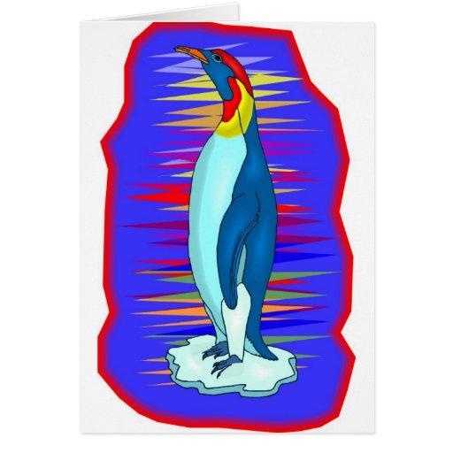 pingüino tarjeta de felicitación