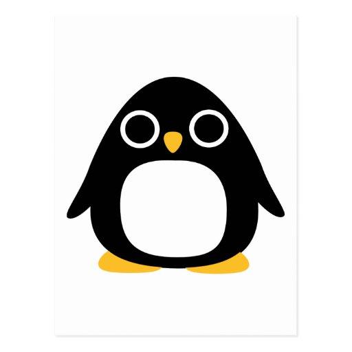 Pingüino Tarjeta Postal