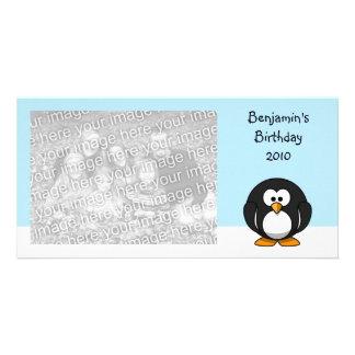 Pingüino Tarjetas Con Fotos Personalizadas