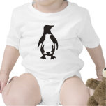 pingüino traje de bebé