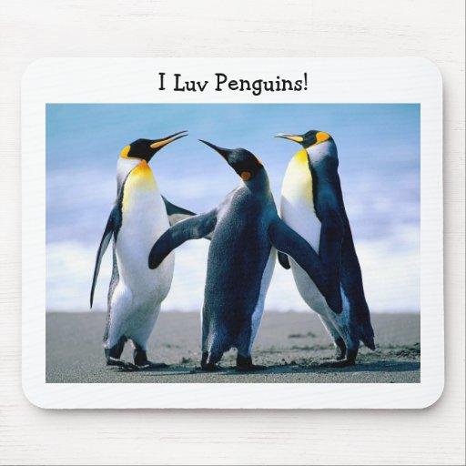 Pingüinos Alfombrilla De Ratón