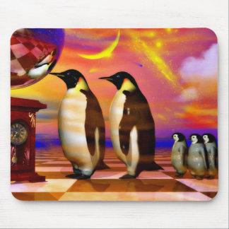 Pingüinos Alfombrillas De Ratones