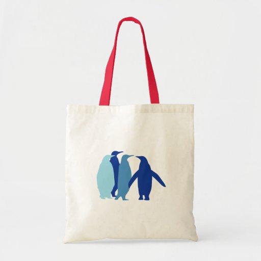 Pingüinos azules bolsas