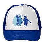 Pingüinos azules gorra