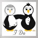Pingüinos consiguiendo casado que hago posters