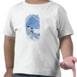 Pingüinos de Adelie (adeliae del Pygoscelis) en el Camiseta
