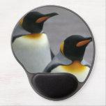 Pingüinos de emperador alfombrilla con gel