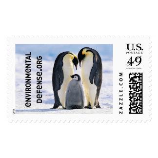 Pingüinos de emperador, franqueo ambiental de la d