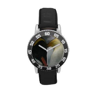 Pingüinos de emperador relojes de mano